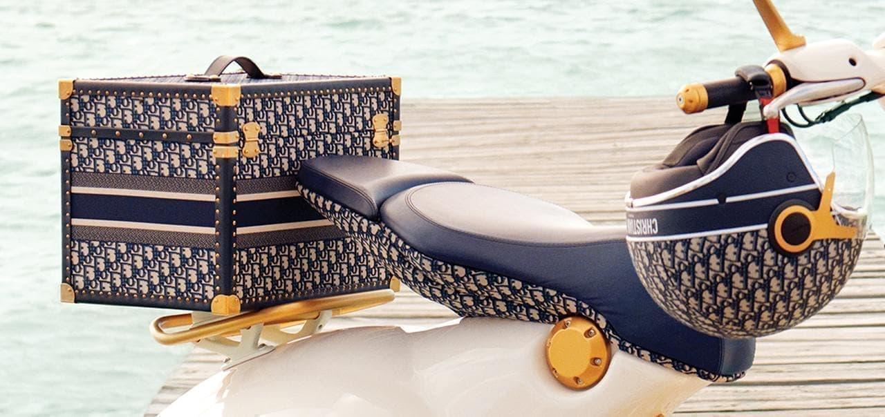 ベスパとクリスチャン・ディオールがコラボ!「Vespa 946 Christian Dior」誕生