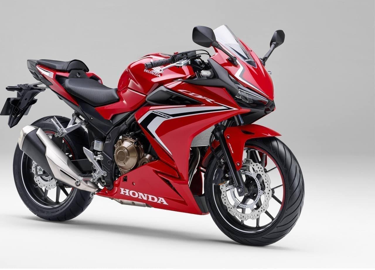 ホンダ「CBR400R」のロゴデザインを変更 - 「CBR1000RR-R」と共通の「CBR」ロゴデザインを採用