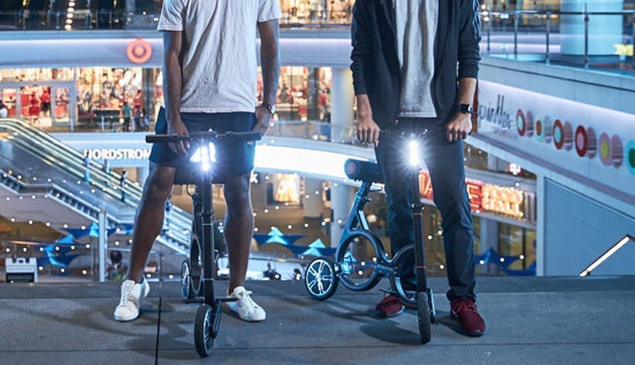 日本の公道を走れる電動バイク「smacircle S1」8月20日17時Kibidangoに登場! 折り畳めばバックパックに入れて持ち歩ける