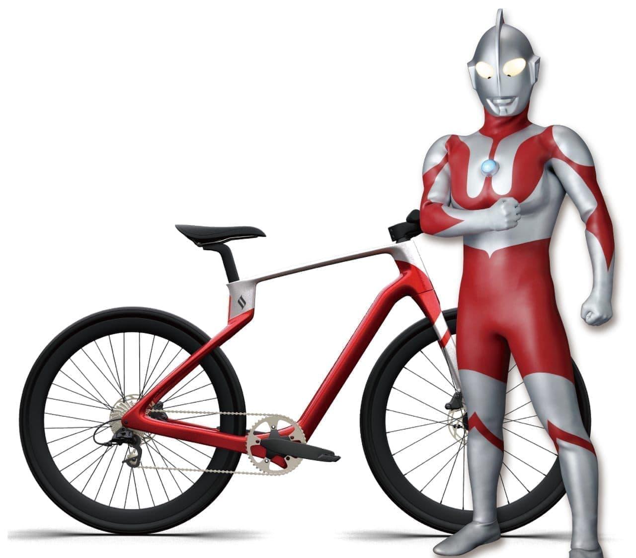 ウルトラマンデザイン自転車「Superstrata Ultraman edition」7