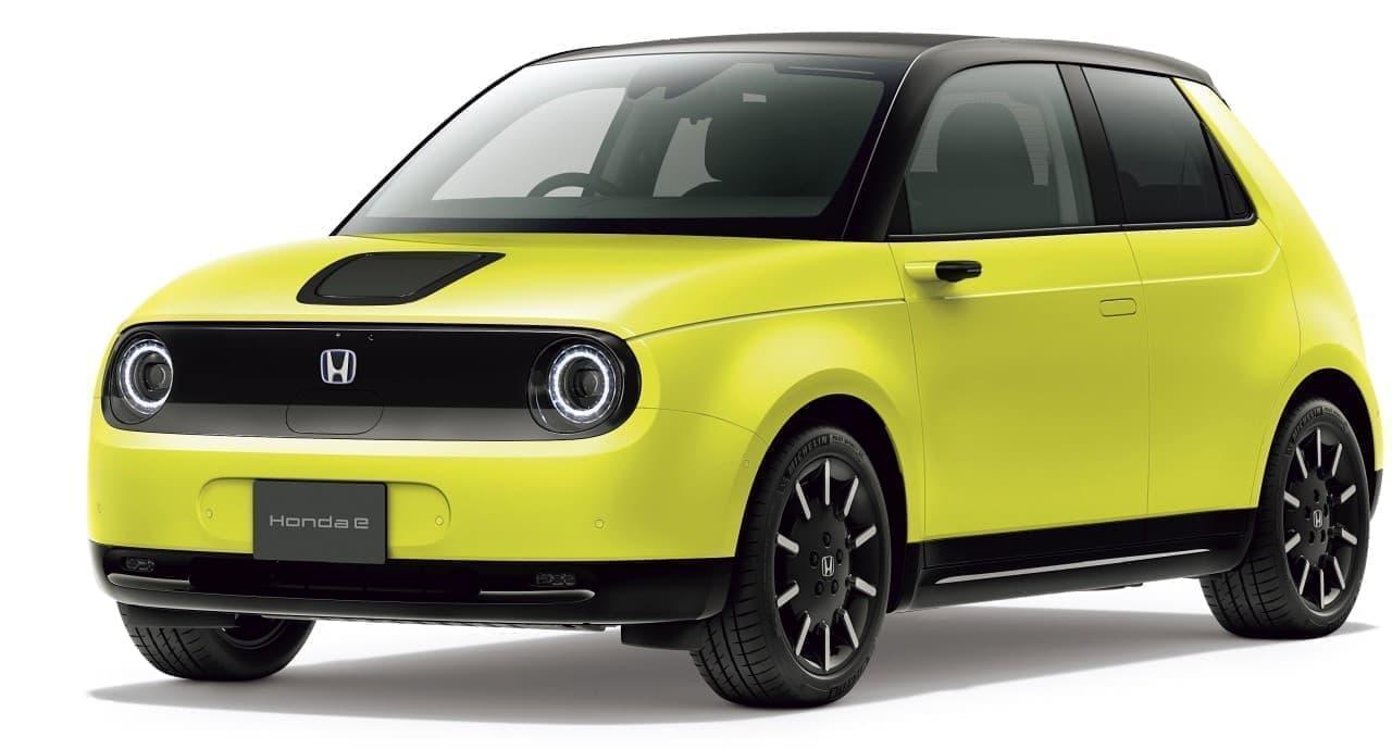 価格は451万円から ― ホンダが「Honda e」を発売