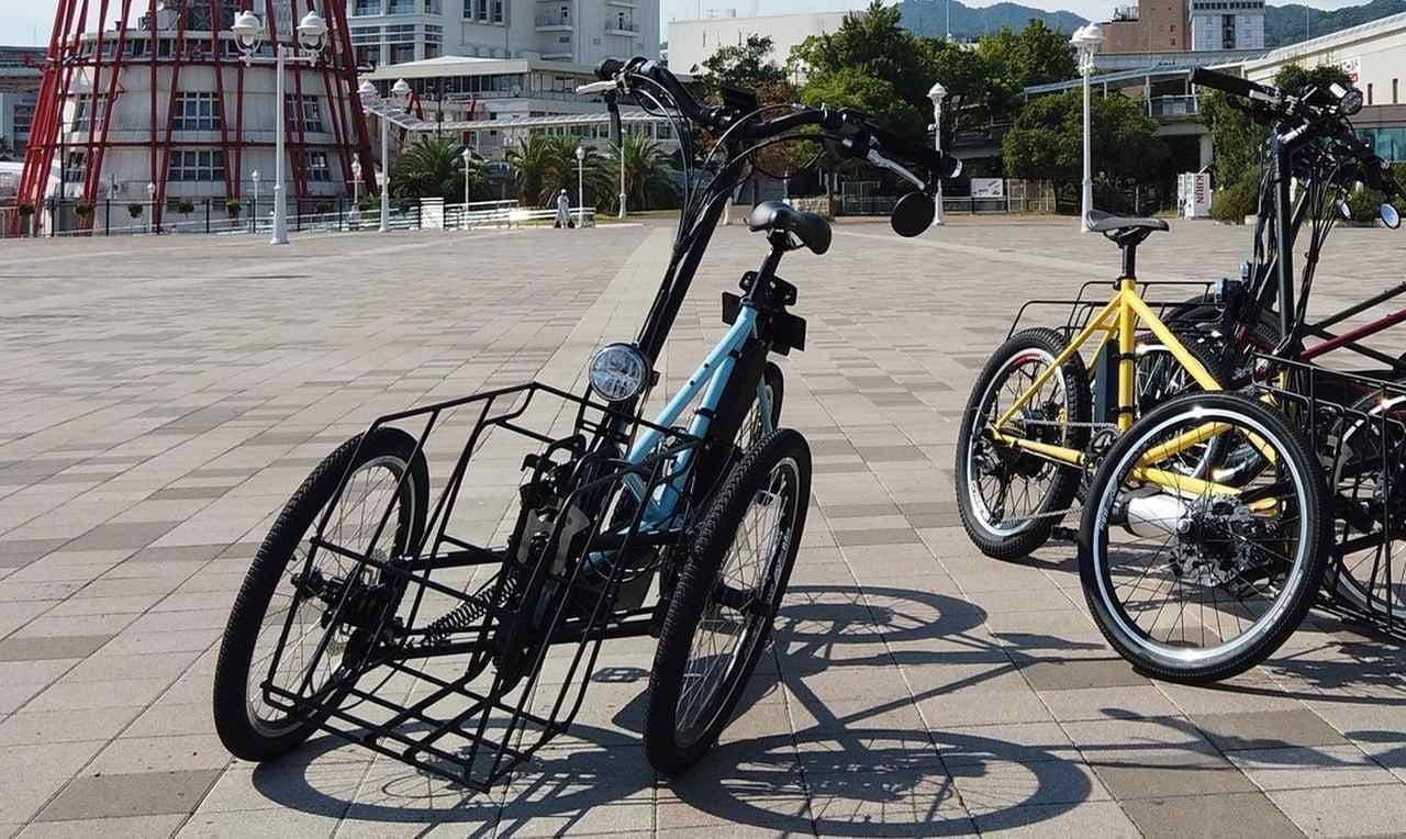 カワサキの電動アシスト自転車 めっちゃ乗ってみたい! ― フロント2輪の「noslisu(ノスリス)」