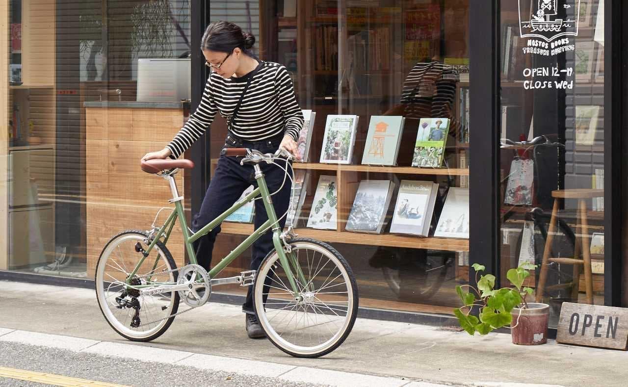 秋色のクロスバイク&ミニベロ ― トーキョーバイクからこの秋だけの限定カラー「ARTICHOKE(アーティチョーク)」