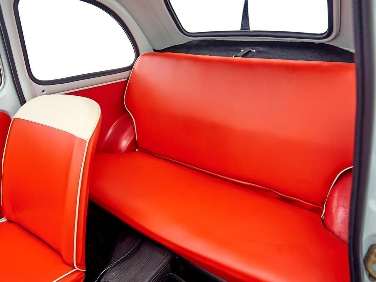 めっちゃ欲しい…旧車のFIAT 500をEV化した「FIAT 500 ev」販売開始
