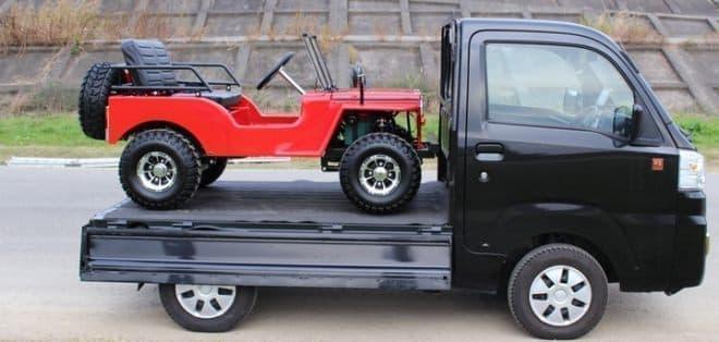 公道を走れる電動ミニカー「ネクストクルーザーEV」に専用大型ラック登場