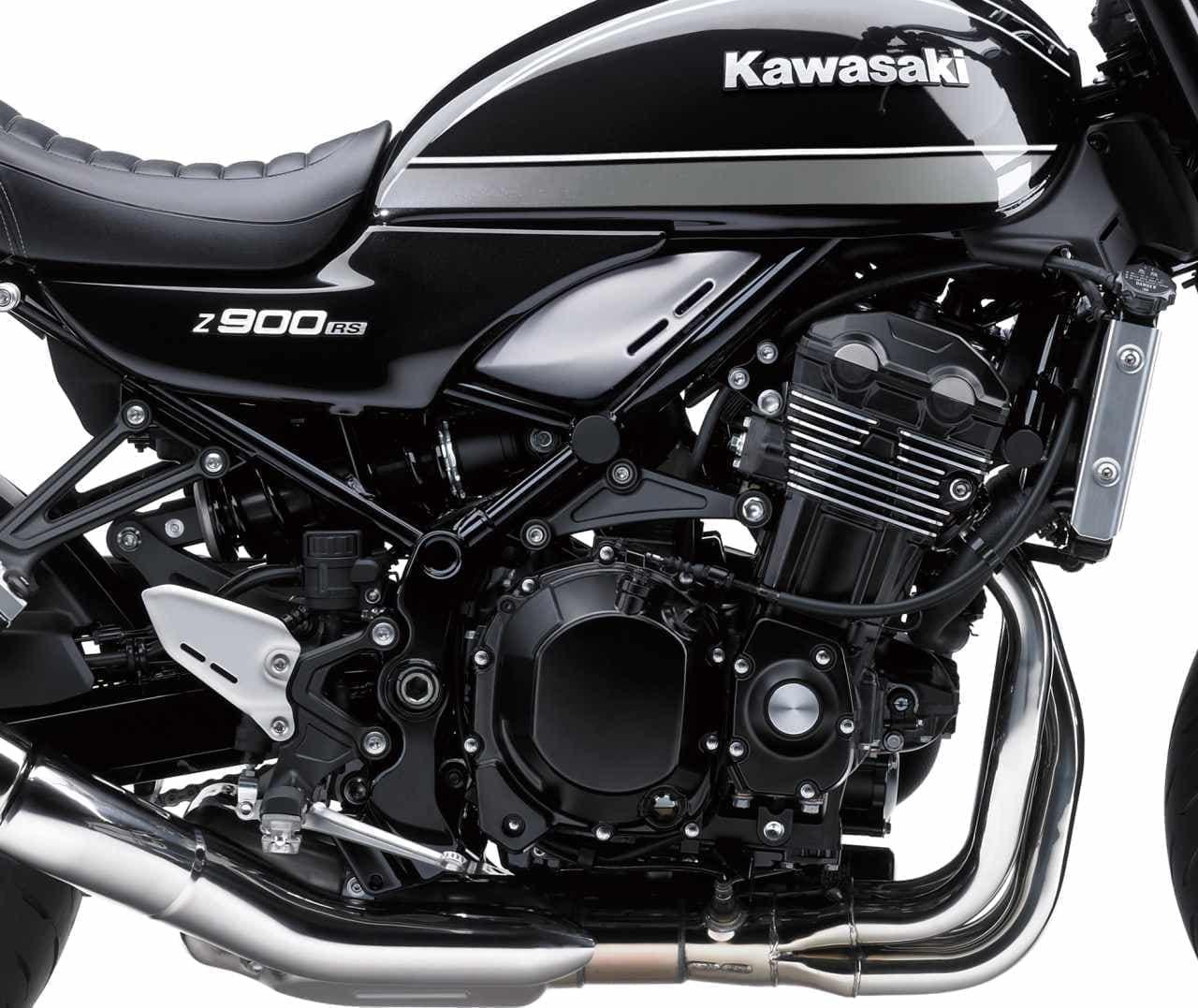 カワサキ「Z900RS」「Z900RS CAFE」ニューグラフィック 12月1日発売