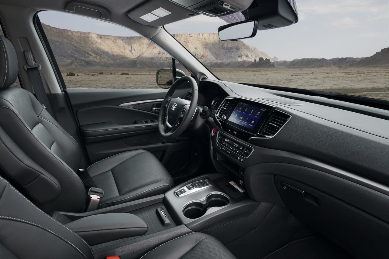 ホンダのピックアップトラック「Ridgeline」(北米向け)に2021年モデル - よりタフフロントフェイスに