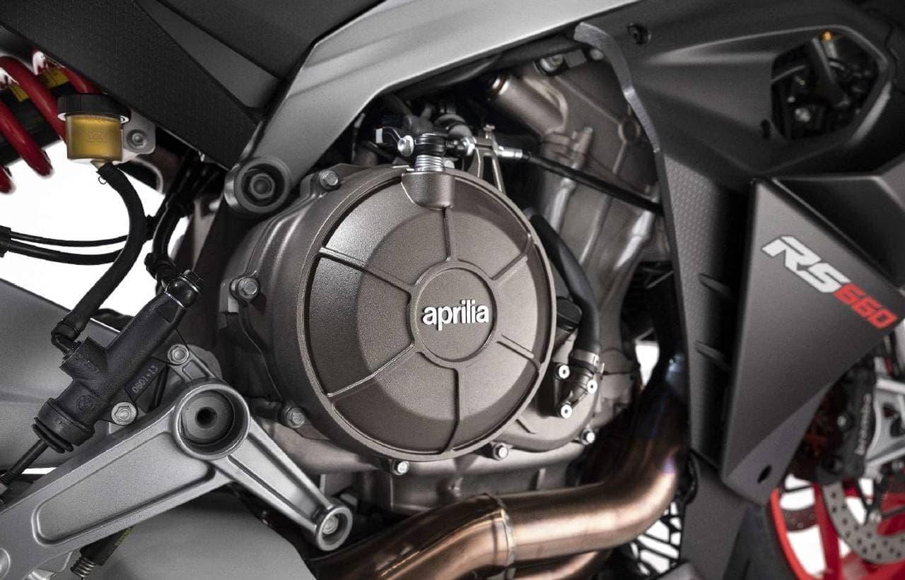 100馬力エンジンと斬新なカラーリング!アプリリア「RS 660」発表