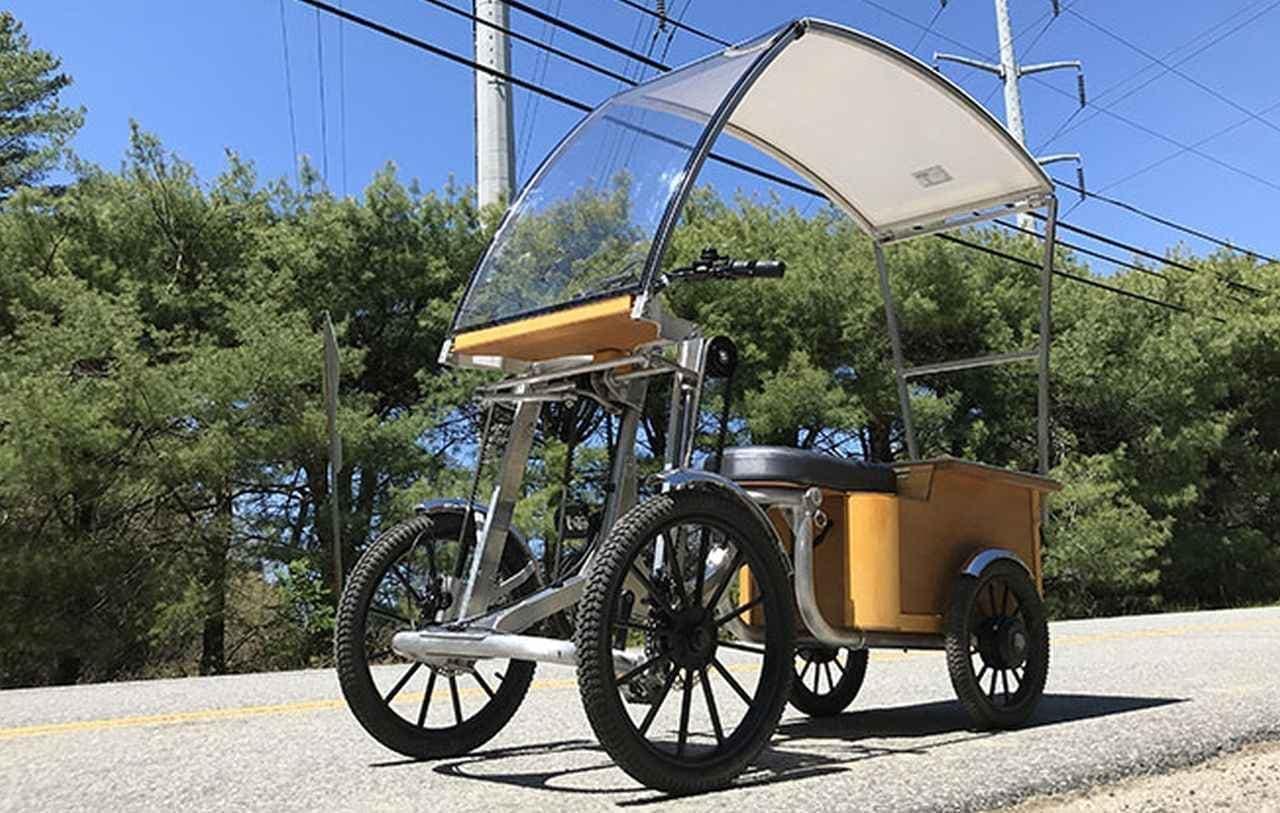 太陽光で走るハイブリッドカー「Pedalcycle」にニューモデル!