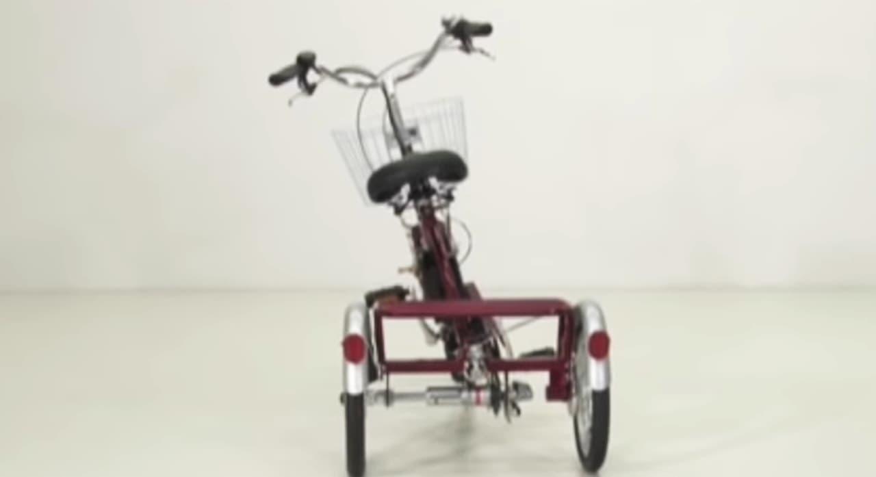 フランスベッドの電動アシスト三輪自転車「ASU-3WSR ランドパル」