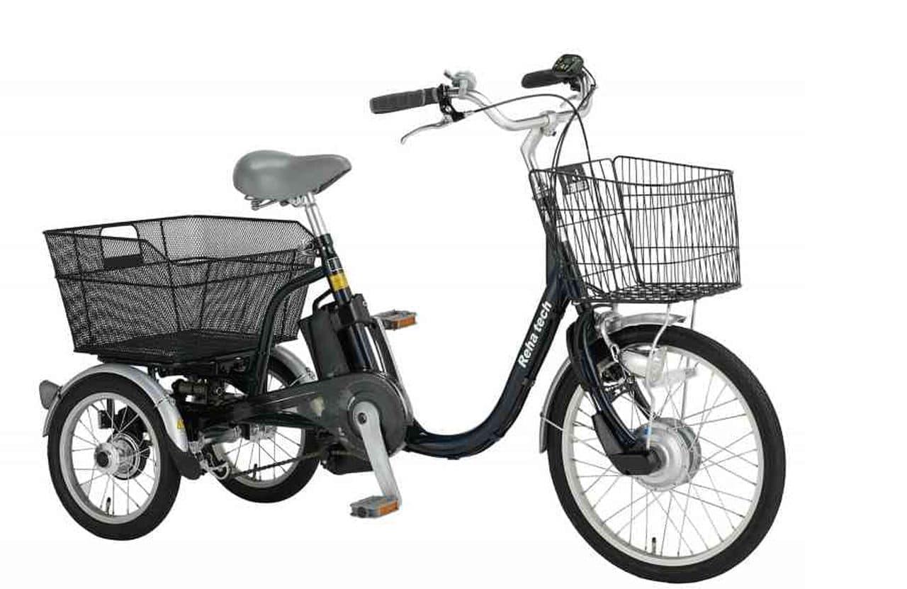 フランスベッドが電動アシスト三輪自転車「ASU-3WSR ランドパル」を発売