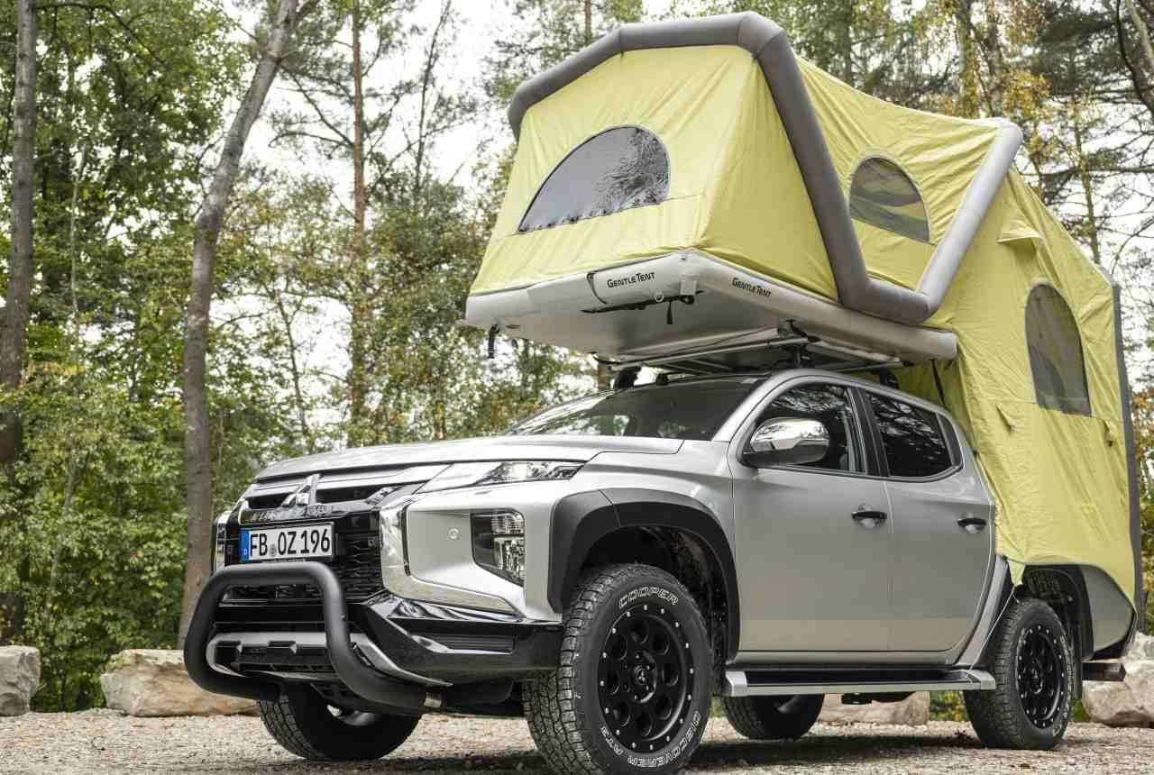 三菱自動車がドイツで販売しているキャンピングカーがカッコイイ! - ピックアップトラック「L200」をベースにビルド