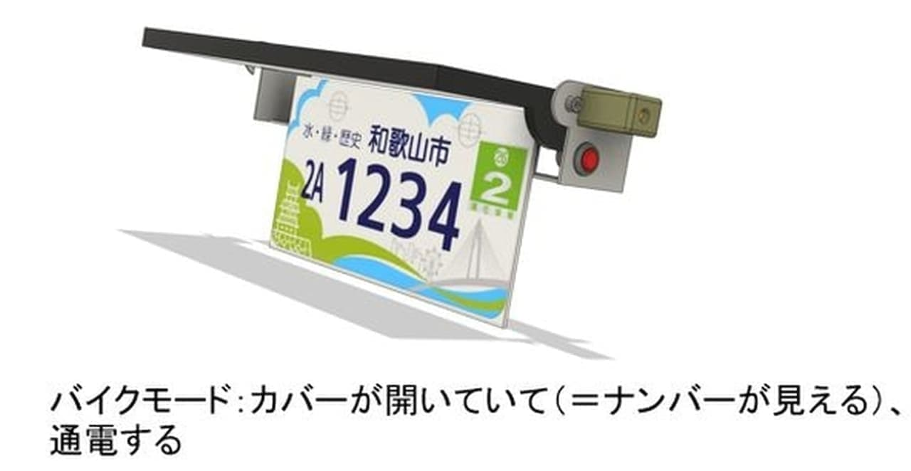 電動バイク「glafitバイク」が自転車として歩道を走行可能に!