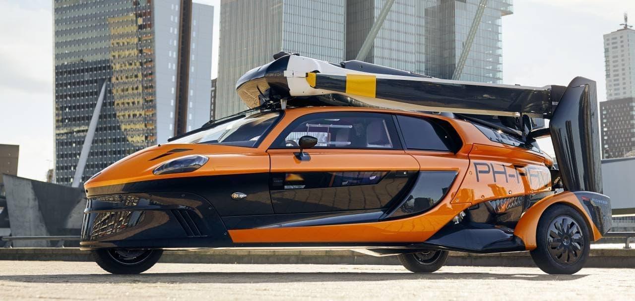 空飛ぶクルマPal-V「Liberty」が欧州で公道走行可能に