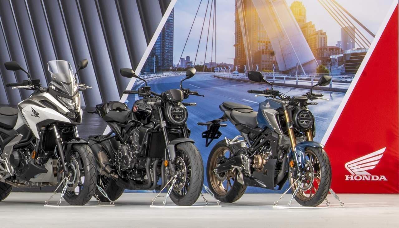 日本販売モデルも ― ホンダが欧州向けバイク2021年モデル7機種を発表