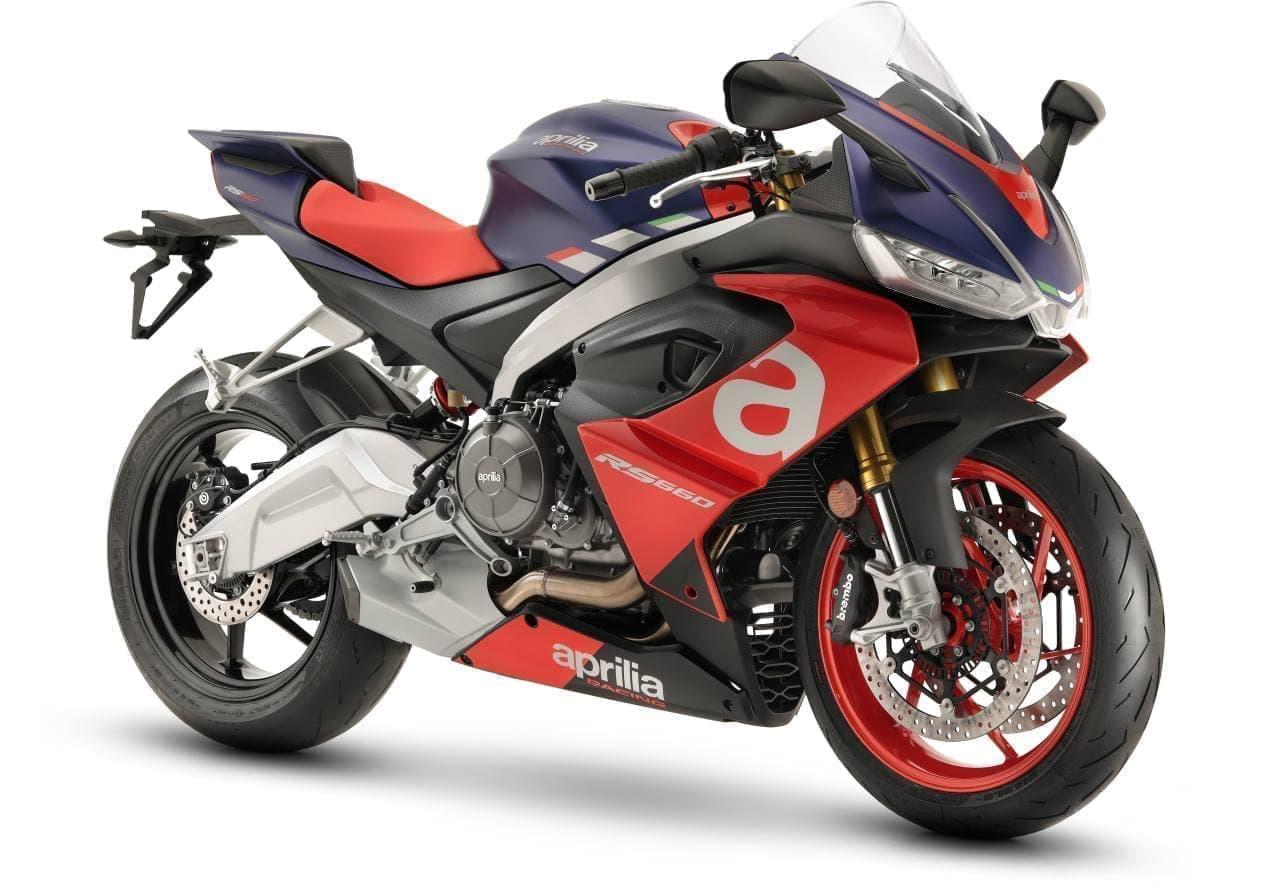 100馬力エンジンと斬新なカラーリング アプリリア「RS 660」発売