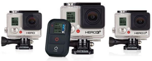 大人気のウェアラブル カメラ GoPro  (出典:GoPro)