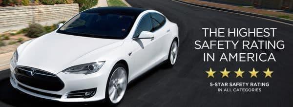 米 NHTSA、Tesla Model S の安全性を確認