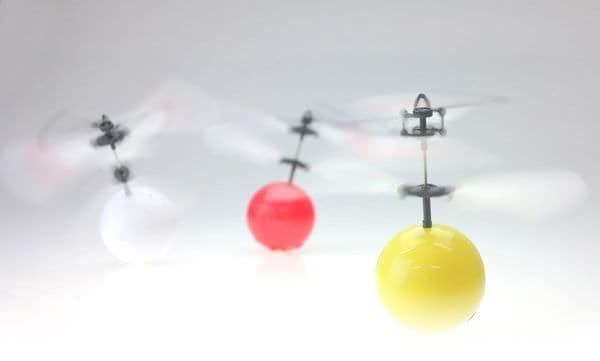 ボール型ヘリコプター「Flying Ball」