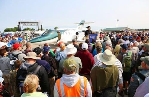 「EAA エアベンチャー2014」で初披露された HondaJet 量産1号機