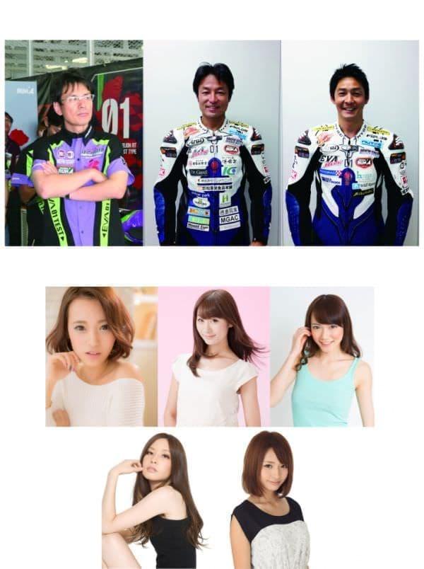 上段左から:鶴田竜二さん、出口修さん、井筒仁康さん  中段左から:引地裕美さん、野呂陽菜さん、森園れんさん  下段左から:浅野一都さん、長谷川麻友さん