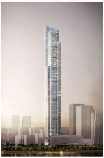 2016年開業予定の広州周大福金融中心