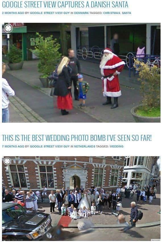 サンタさんや花嫁さんでほっこり