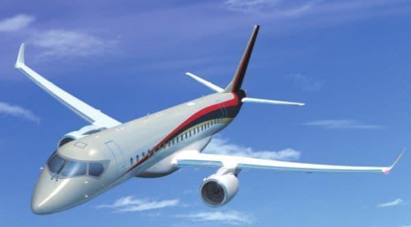 MRJ 画像(提供:三菱航空機)