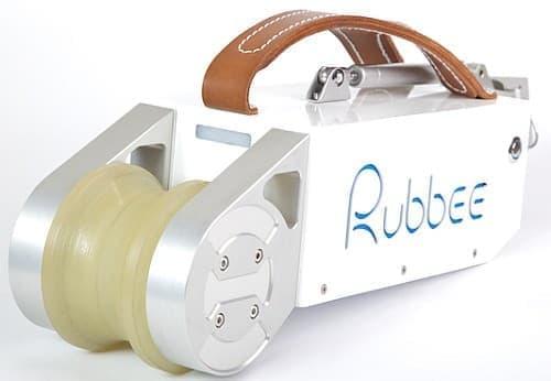 普通の自転車を電動自転車に変える「Rubbee」