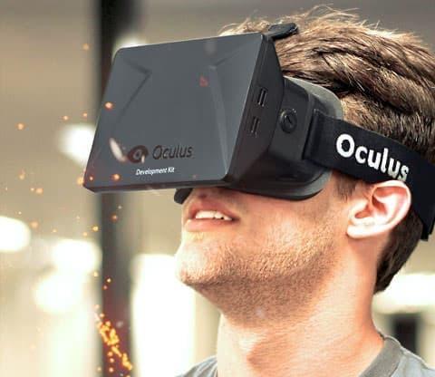 Oculus VR によるヘッドセット「Oculus Rift」