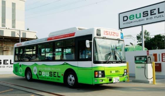 ミドリムシから作ったバイオディーゼル燃料「DeuSEL」運用開始