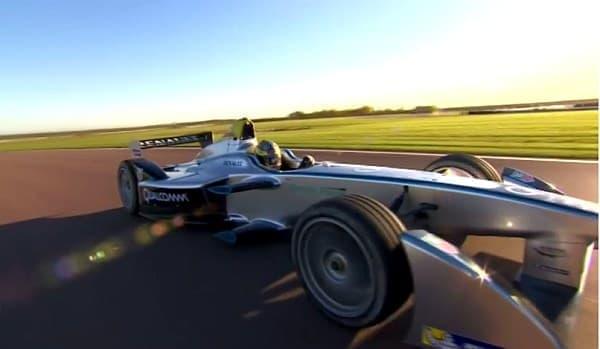 Formula E で使用される電気自動車