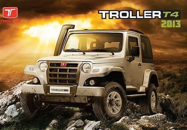 Troller T4 2013年モデル  ますます男だぜ!