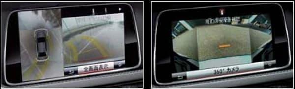 「360°カメラシステム」を標準装備