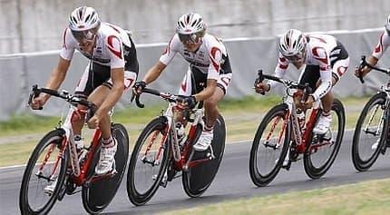 自転車タイムトライアルレースは、タイムを競うレース
