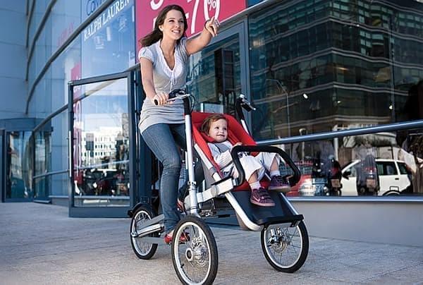 Taga Bike-Stroller は、利用者に高いレベルの安定性を提供します