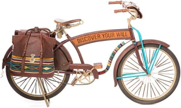 メキシコの文化を伝えるカラフルな自転車「Oaxacan Bike #2」