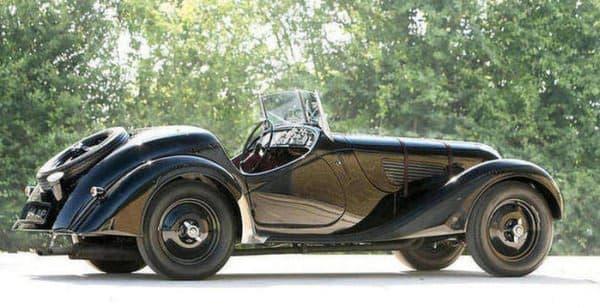 同オークションに出品された 1937 BMW 328 ROADSTER