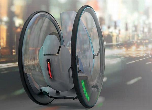「GenZe」が取り組む「超省スペース(Ultra Small Footprint:USF)」ビークル  子どもの頃に学習雑誌で見た「インサイドギア車」そっくり?