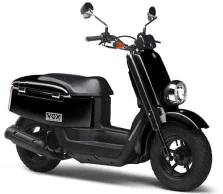 「VOX XF50D」の「ブラック メタリック X」