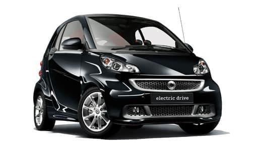 特別仕様車のベース車は「smart fortwo electric drive」