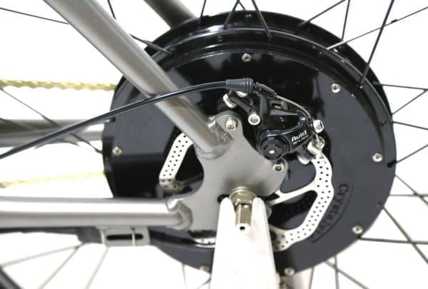 ICON E-Flyer Electric Bike のブレーキシステム
