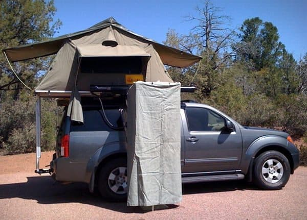 キャンピングカーなしでも快適なキャンプが可能に