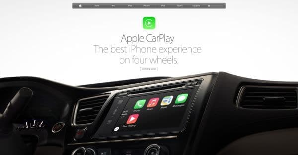 Apple が発表した CarPlay