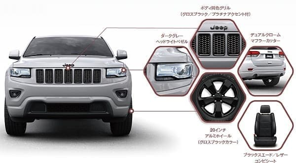 「Jeep Grand Cherokee Altitude」特別装備