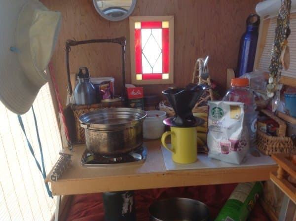 室内でコーヒーがいれられるようになった