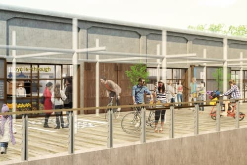 「サイクルスルー」できるカフェ「Yard Cafe(ヤードカフェ)」もオープン