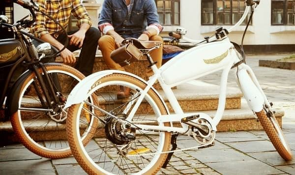 電動アシスト自転車でありながらおしゃれなデザインを楽しめる