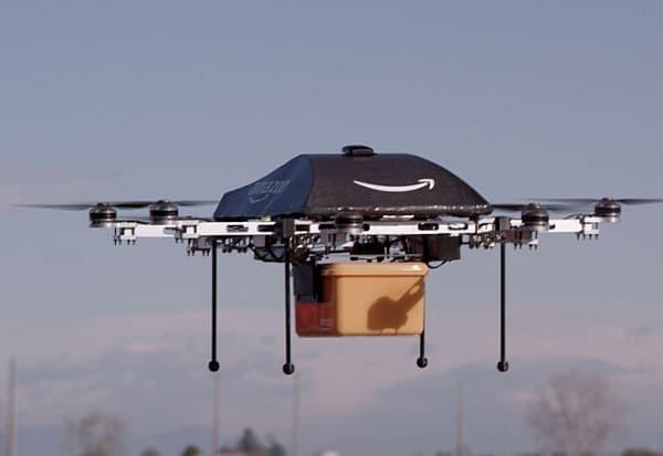 無人ヘリによる配送サービス「Amazon Prime Air」