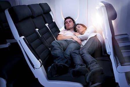 エコノミークラスへの宿泊イメージ  (画像出典:Air New Zealand)